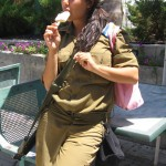 Israeli female soldier