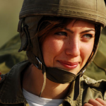 Israeli female soldier 3