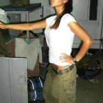 Israeli soldier girl 104