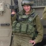 Israeli soldier girl 107