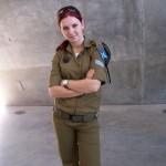 Israeli soldier girl 109