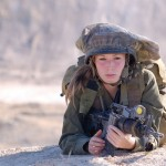Israeli soldier girl 110