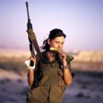Israeli soldier girl 119