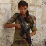 Israeli soldier girl 12