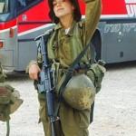 Israeli soldier girl 136