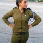 Israeli soldier girl 142