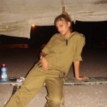 Israeli soldier girl 152