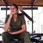 Israeli soldier girl 155