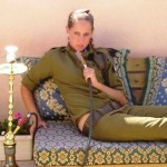 Israeli soldier girl 156