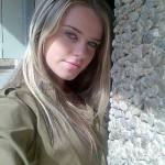 Israeli soldier girl 16