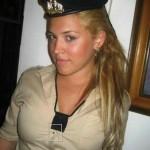 Israeli soldier girl 17