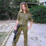 Israeli soldier girl 174