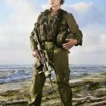 Israeli soldier girl 24