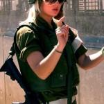 Israeli soldier girl 30