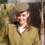 Israeli soldier girl 44