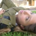 Israeli soldier girl 48