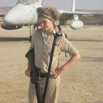 Israeli soldier girl 82
