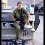 Israeli soldier girl 89