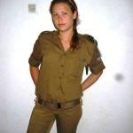 Israeli soldier girl 90