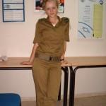 Israeli soldier girl 94