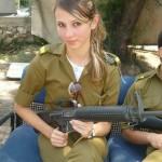 Israeli soldier girl 97