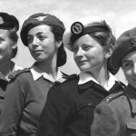 Israeli soldier girls from 1950