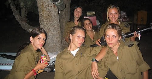 Israeli soldier girls 41 - C