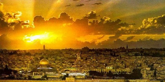 Jerusalem sunset