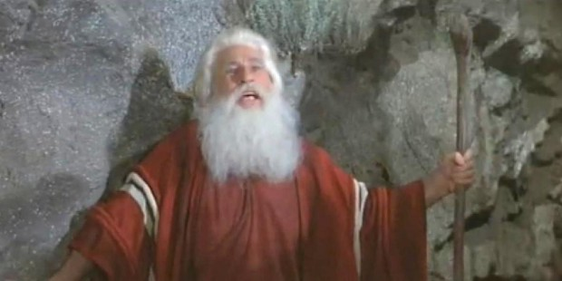 Mel Brooks as Moses 2