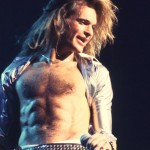 David Lee Roth with Van Halen
