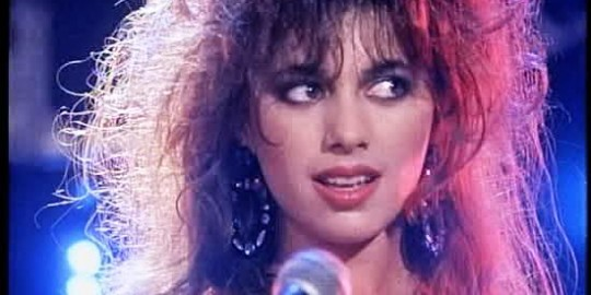 Susanna Hoffs with The Bangles