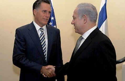 Netanyahu and Romney