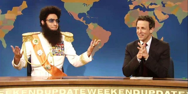 Sacha Baron Cohen on SNL