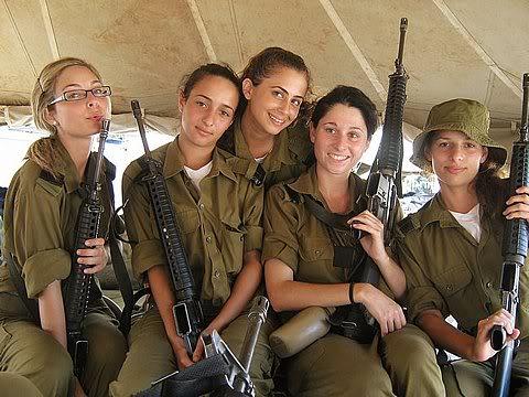 sexy-israeli-military-female