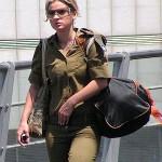 Israeli soldier girl 203