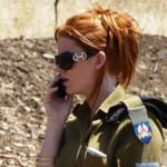 Israeli soldier girl 204