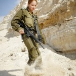 Israeli soldier girl 244