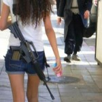 Israeli soldier girl 250
