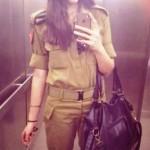 Israeli soldier girl 252