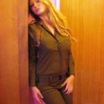 Israeli soldier girl 261