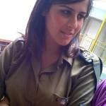 Israeli soldier girl 262