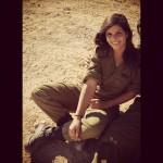 Israeli soldier girl 300