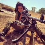 Israeli soldier girl 301