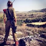 Israeli soldier girl 303