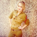 Israeli soldier girl 313
