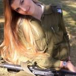 Israeli soldier girl 316