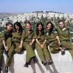 Israeli soldier girls 160