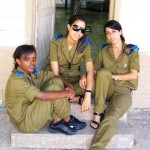 Israeli soldier girls 202