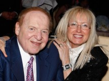 Dr. Miriam and Sheldon Adelson