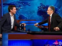 Jon Stewart and Jason Bateman